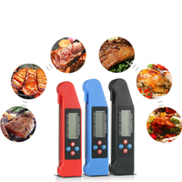 Grills Read BBQ Thermometer Broadcast Digital Baking Voice Instant Celsius Meat Food