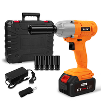 21V Cordless Impact Electric Wrench Brushless Socket Wrench Hand Drill Installation Power Tools For Car/SUV Wheel