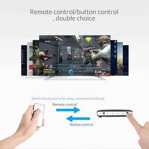 Image 2 - Unnlink HDMI スイッチ 7X1 HDMI 2.0 UHD4K @ 60Hz HDCP 2.2 HDR 7 で 1 アウト ir リモートスマートテレビ用 MI Box3 PS4 プロジェクター