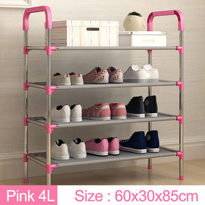 Image 3 - New arrival Multiple layers Shoe Rack with handrail Easy Assembled Shelf Storage Organizer Stand Holder Keep Room Neat