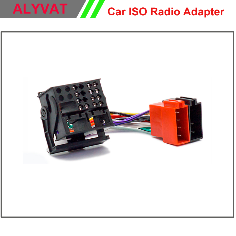 Car ISO Radio Adapter Connector For BMW Land Rover Defender Range Rover Rover Wiring Harness Auto Stereo Adaptor Cable Plug Wire