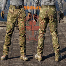 Men's Military Snake Camouflage Tactical Pants 2016 New Mandrake Typhon Grain Printing Trousers for Outdoor Army Hunting CS Game