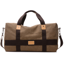 New Durable Fashionable Wear-Resistant Canvas Travel Bag Carry On Lugga