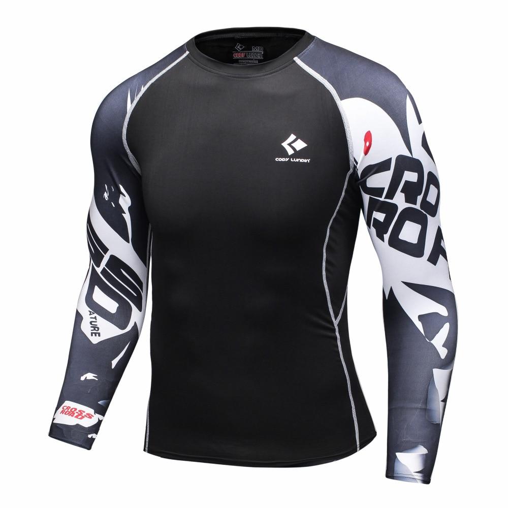 Mens Compression Shirts Bodybuilding Skis