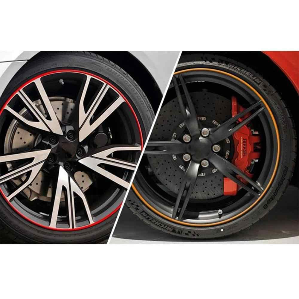 Automobile voiture Auto jante protecteurs anneaux alliage Gators 8 mètres décor garde ligne bande de Protection bande