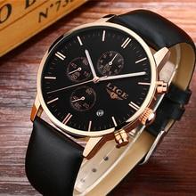 Lige мужские часы лучший бренд класса люкс мужской военной Спорт световой часы мужские деловые кварц-часы мужской часы человек Relogio masculino