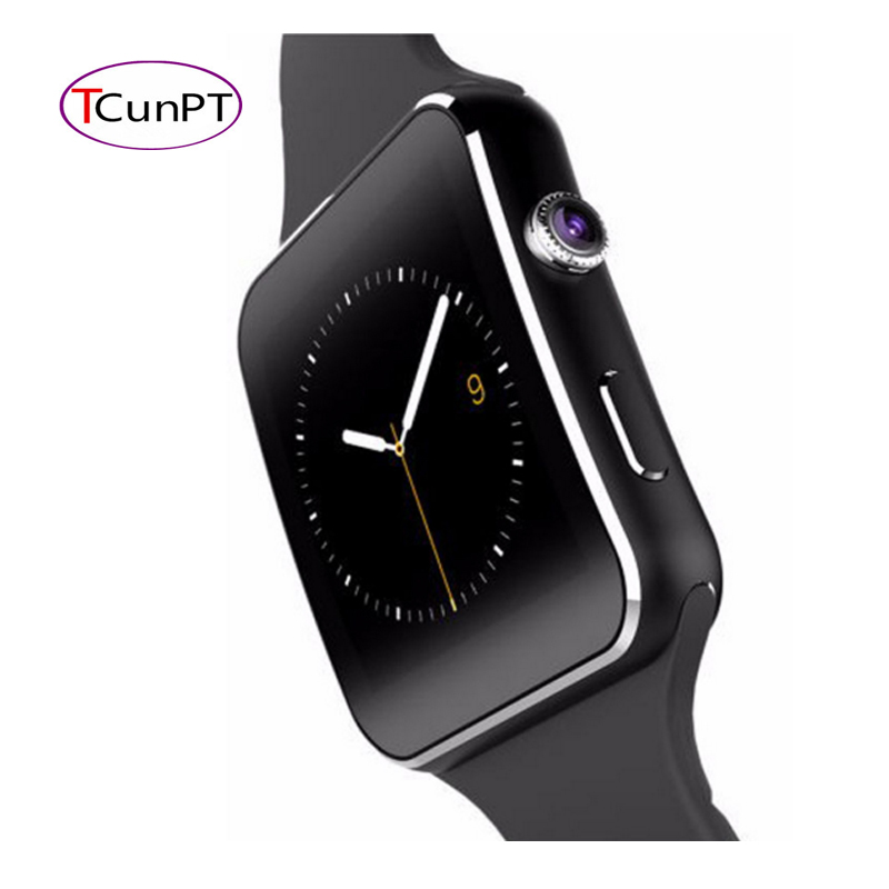 New Bluetooth Smart Watch X6S font b Smartwatch b font sport watch For Apple iPhone Android