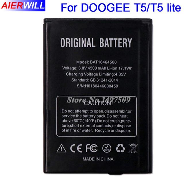 BAT16464500 Pil DOOGEE T5 T5 lite Batterie Bateria Batterij Akümülatör 4500 mAh Yüksek Kalite