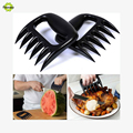 2pcs Barbecue Forks Grizzly Claws Meat Handler Fork Tongs Pull Shred Pork BBQ Grill Bear Paws Claws Forks Barbecue Tool