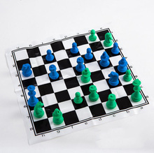 Novelty Chess Eraser Funny International Shaped Rubber Set as Kids Game Toy