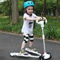 Cuatro Ruedas Scooter de 2-6 años de edad Los Niños Mejor Calidad Niños Scooters a La Venta Full Flash de LA Rueda de LA PU Dentro de 50 KG