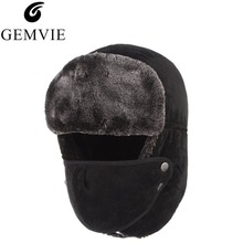GEMVIE Winter Warm Hats For Men Russian Hat Multi-function T