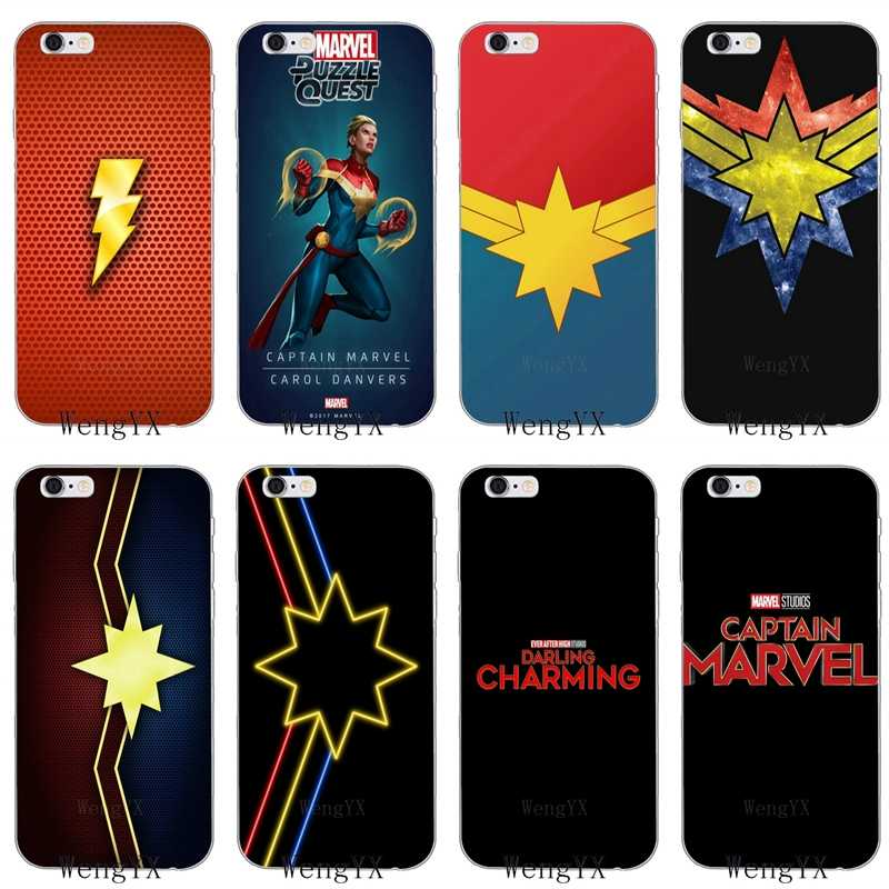 captain marvel iphone 8 case