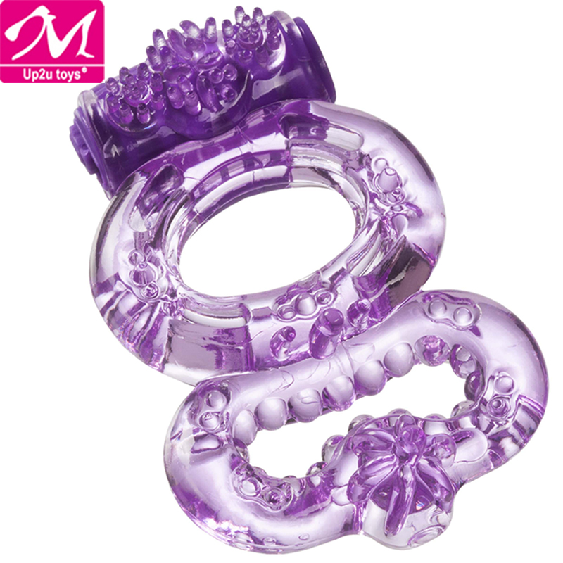 Rubber Flower Ring Toy Dog