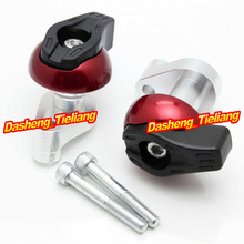 For yamaha YZF R6 2006 2007 Frame Sliders Crash Pads Protector Motorcycle Spare Parts Accessories Red