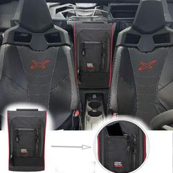 KEMiMOTO Marverick X3 Between Seats 1680D Waterproof Center Console Storage Bag for Can am Maverick X3 2017 2018 2019