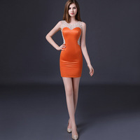 2018 Sexy Party Dress Womens Summer Bodycon Elegant Vintage Lace Women Evening Party Boho Club Ladies Bandage Mesh Bride Dresses