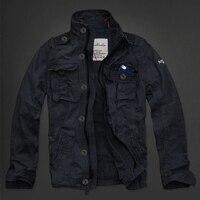 Мужская куртка на осень зиму, 100% хлопок, модная брендовая рабочая куртка, Мужская куртка большого размера