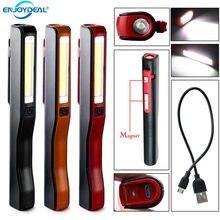 USB Charging LED Flashlight Medical Handy Pen Light Mini Clip Nursing Lamps