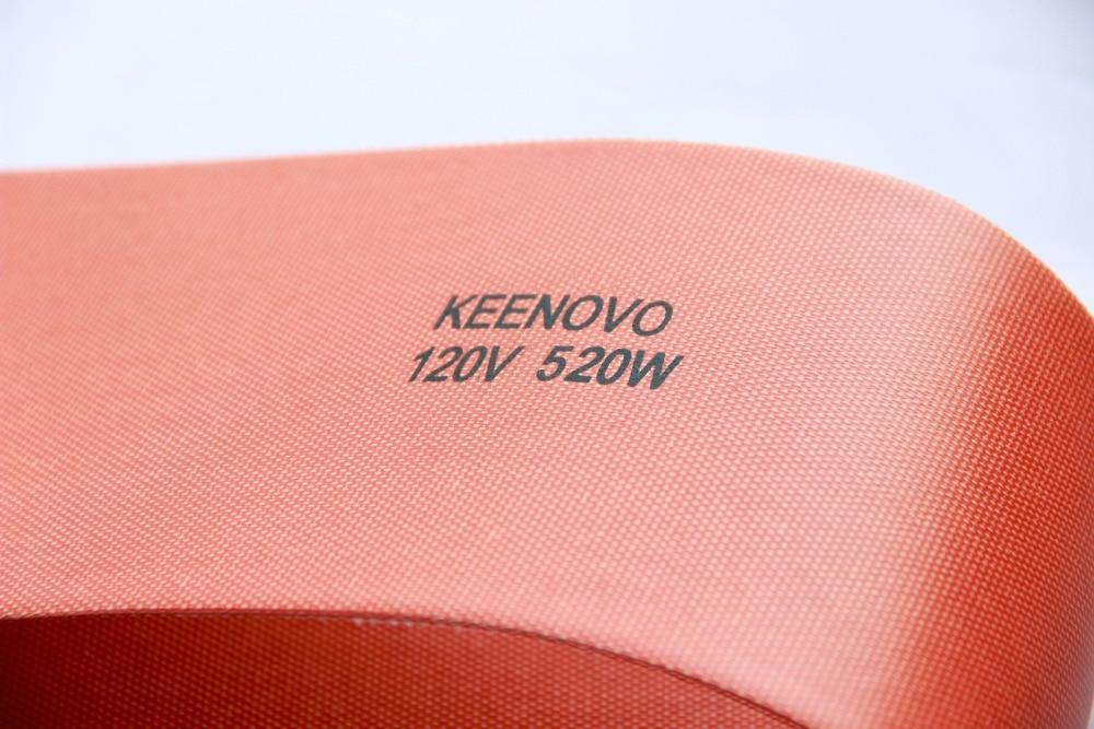 5 X 24 520W 120V Keenovo Flexible Silicone Heater, Ukulele Side Bending Heating Thermal Heat Blanket, Free Shipping5 X 24 520W 120V Keenovo Flexible Silicone Heater, Ukulele Side Bending Heating Thermal Heat Blanket, Free Shipping