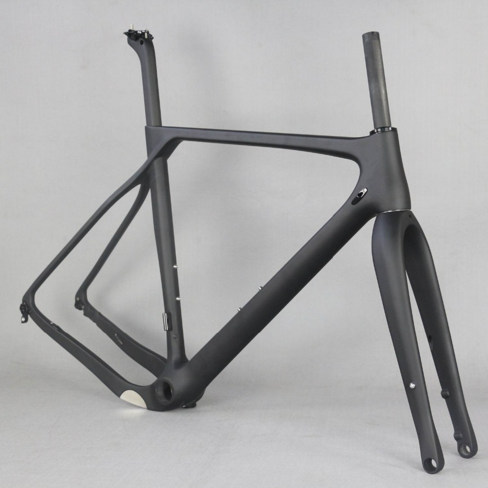 2019 Full Carbon Fiber Gravel Bike Frame GR030 , Bicycle GRAVEL frame factory deirect sale CUSTOMIZED PAINT frame MEN frame цена