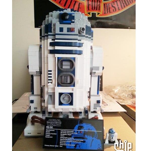 05043 star Wars Spazio di Stampa Il R2 D2 Robot Set di Blocchi di Costruzione di Modello 2127pcs Giocattoli Dei Mattoni Compatibile Con bela 10225-in Blocchi da Giocattoli e hobby su  Gruppo 1