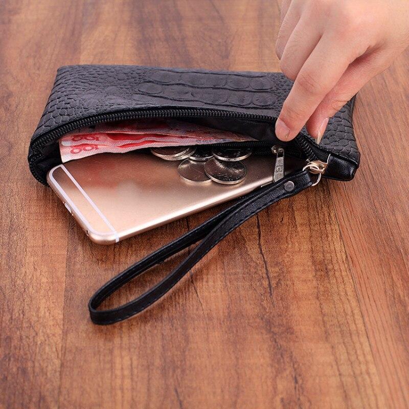 Fashion new Portable candy colors ladies wallet Coin purse Case Travel zipper Makeup PU Leather Bags women long clutch handbag