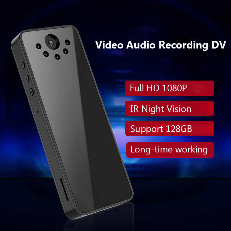 Full HD 1080P Mini Camera IR Night Vision Micro Camera Pen Video Audio Meeting DVR Camera