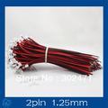 Mini. Micro JST 1.25mm T-1  2-Pin Connector w/.Wire x 10 sets.2pin 1.25mm