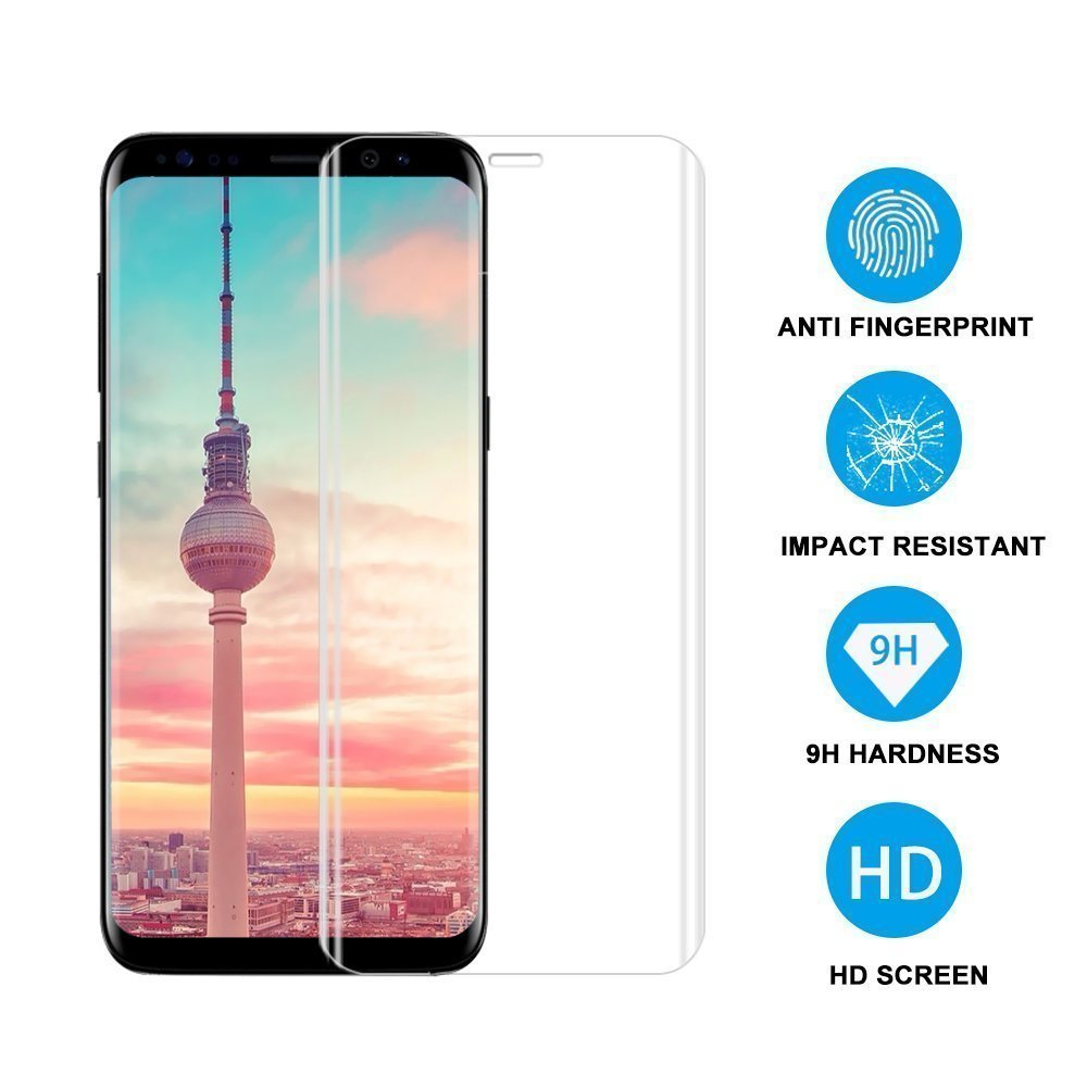 Full Coverage Screen Protector For Samsung S9 S8 S8 Plus  Suntaiho  3D Curved Tempred Glass Protective  Flim for Galaxy Note 8 9