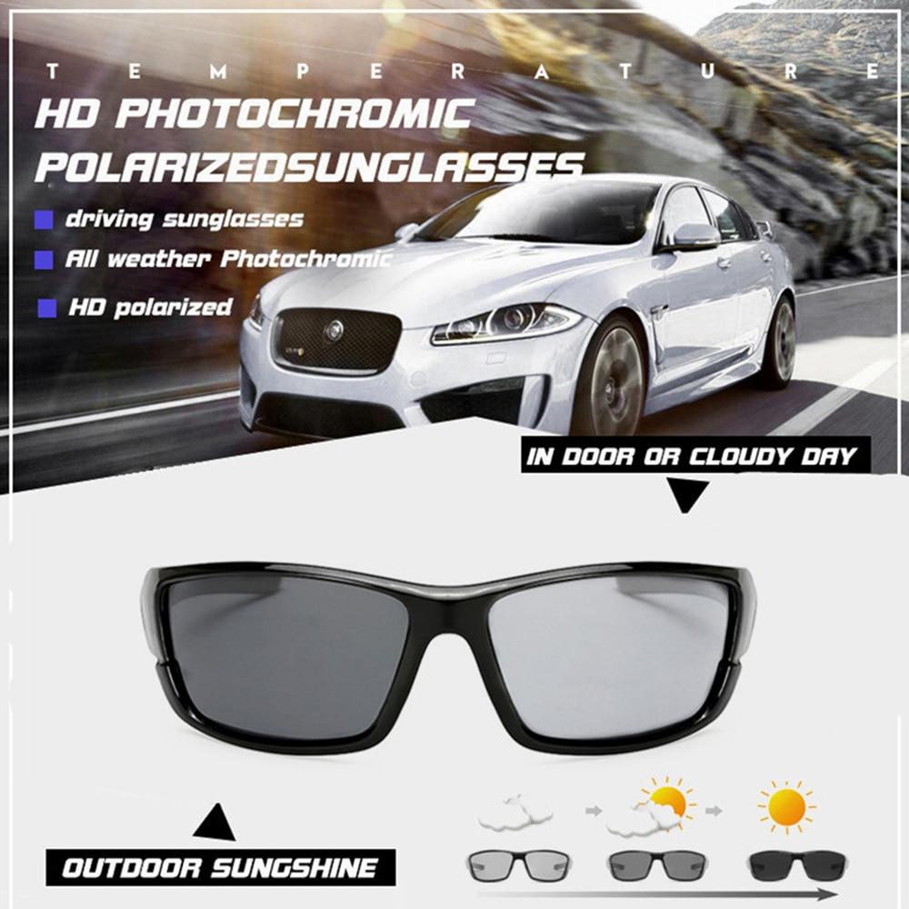 Купить с кэшбэком Cycling Glasses Polarized Men Sports Bicycle Sunglasses UV400 Road MTB Bike Riding Eyewear Protection Goggles Photochromic