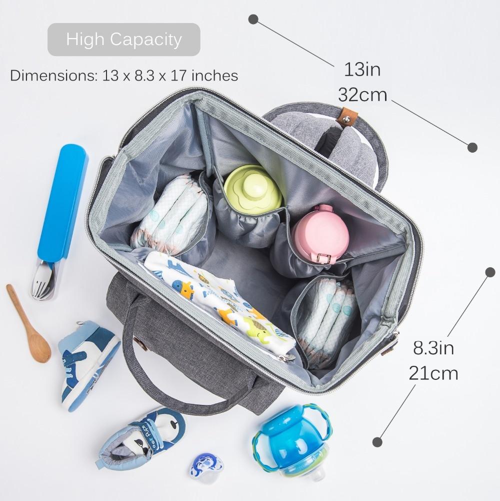 Alameda Mode Maman Sac de Maternité Multi-fonction Sac à Langer Sac - Couches et apprentissage de la propreté - Photo 2