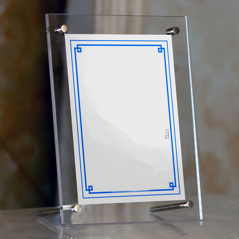 Einzelhandel Klar Papier Bilderrahmen Modernen Bilderrahmen Halter ...