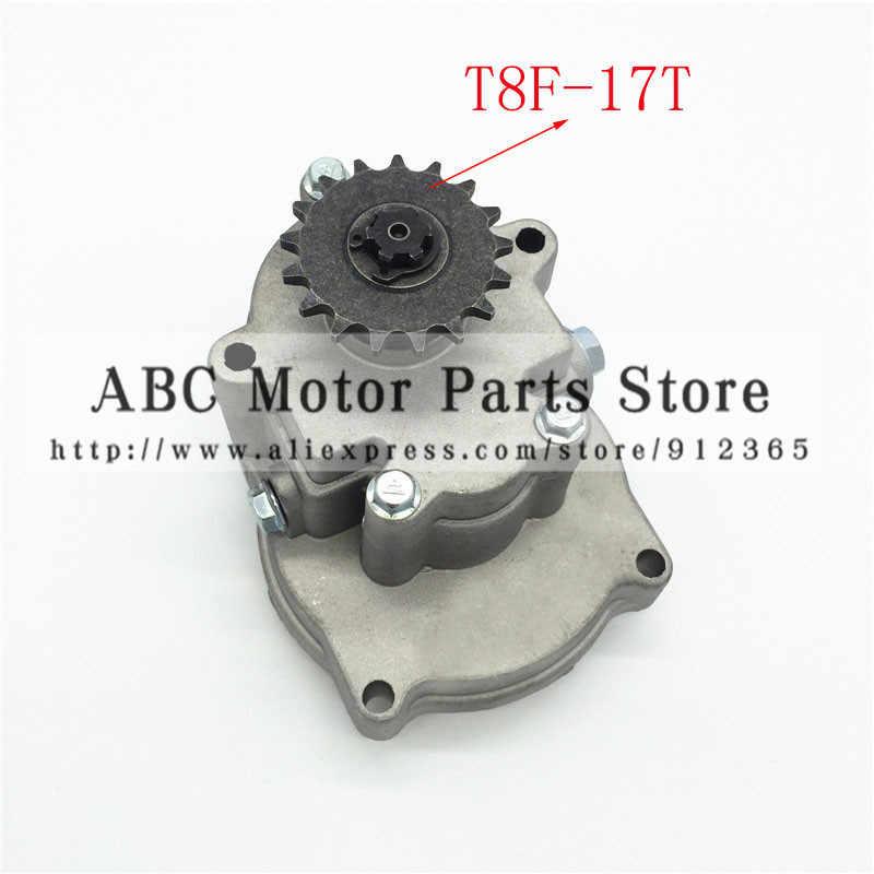 T8f 11 14 17 20 치아 클러치 드럼 기어 박스 스프로킷 33cc 43cc 49cc 타이로드 ii 고 카트 미니 모토 먼지 자전거 스쿠터 xtreme
