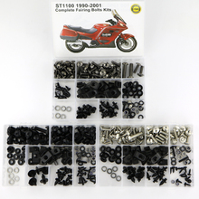 For HONDA ST1100 1990 2002 Complete Full Fairing Bolts Kit Motorcycle Covering Bodywork Screws Bolts Speed Nuts