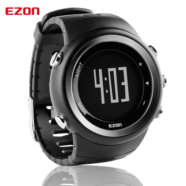Free Shipping EZON T023 Running Sport Watch Pedometer Calorie Monitor Digital Watch Outdoor Running Sports Watches Waterproof | Fotoflaco.net