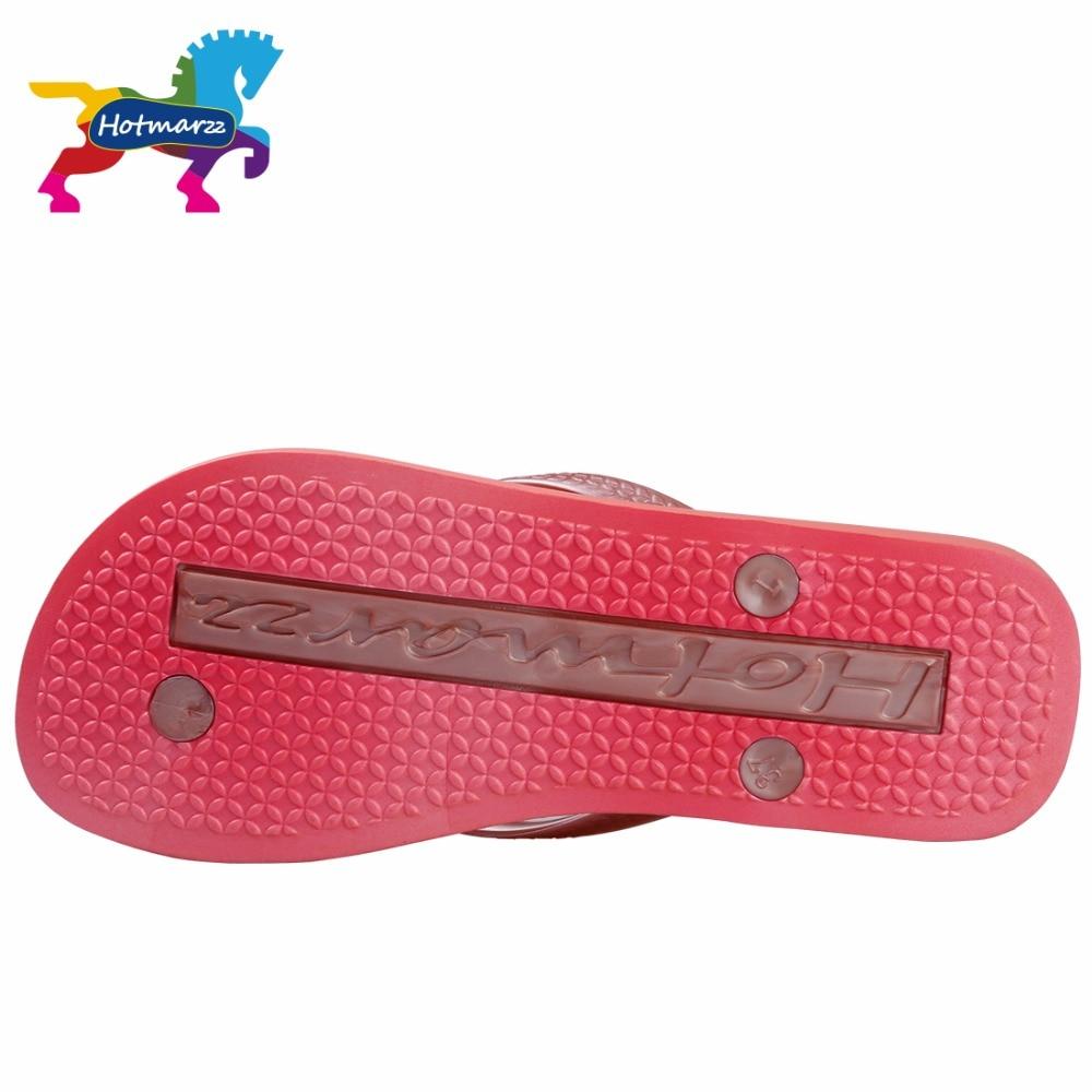 Image 4 - Hotmarzz Women Red Flip Flops Sandals Slim Slippers Summer Beach Shoes Rubber Designer Brand Slides House Shower Slippersshower slippersslimming slippersslippers summer -