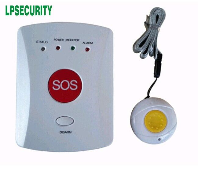 Monitor de llamada de buscapersonas personal de emergencia Alarma de seguridad Sistema de alarma de alerta de seguridad para ancianos//ni/ños//paciente