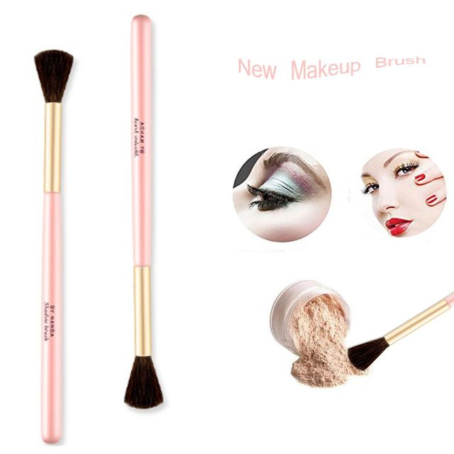 1PC Hot New Fashion Women Professional Eyebrow Brushes Concealer Eyeshadow Blush Brush Eye Comestic Makeup Tool Beauty Makeup Brushes