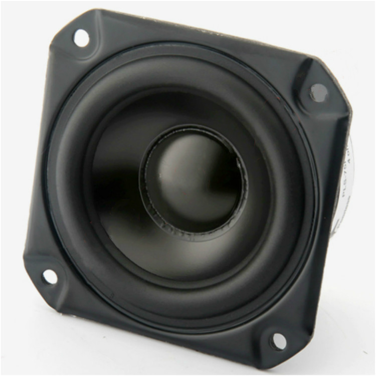 2 Pcs Melo David Audio Peerless P830986 3 Inch Aluminun Cone Neo Magnet Fullrange Speaker Free Shipping Lovely Pair