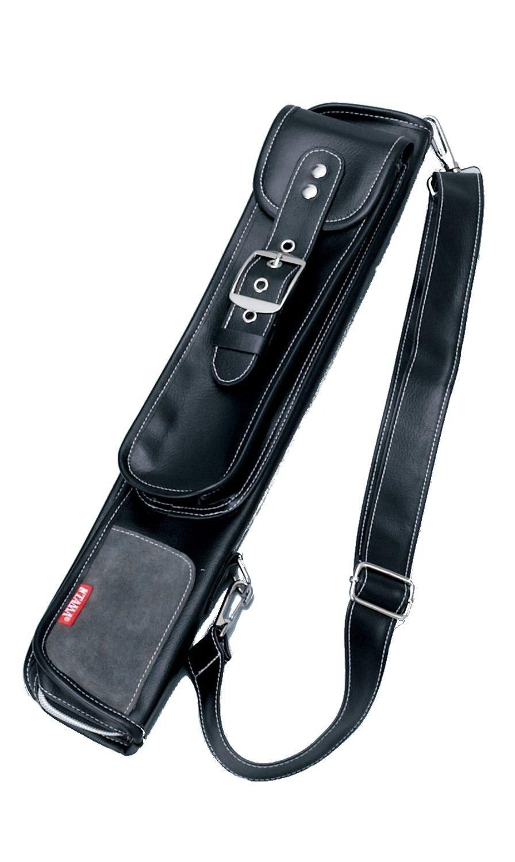 Grand sac bâton en cuir de la série Tama LZ, convient à 12 paires de pilons ou de maillets