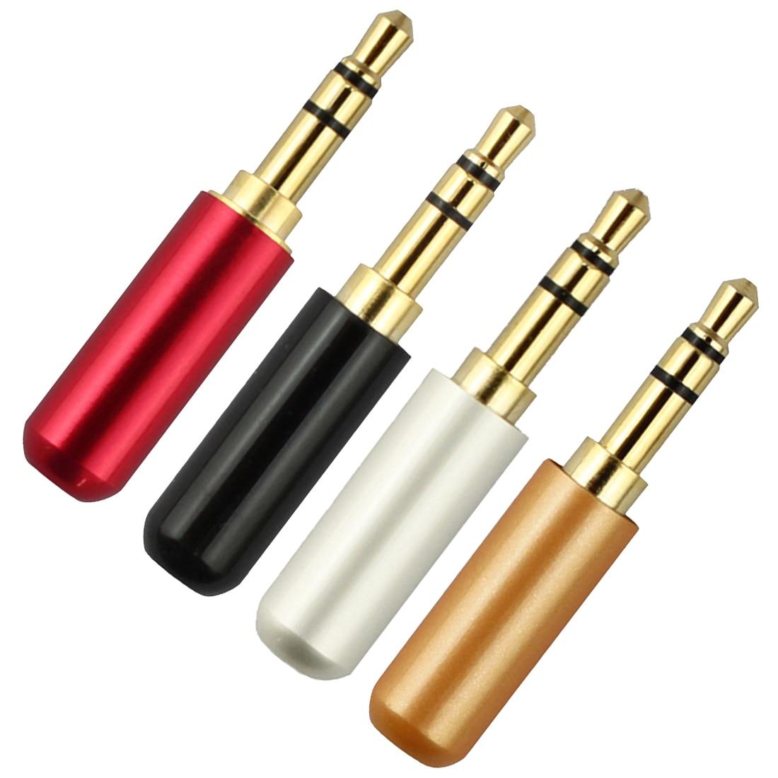 mini stereo jack plug 3 poles male plug aluminum. Black Bedroom Furniture Sets. Home Design Ideas