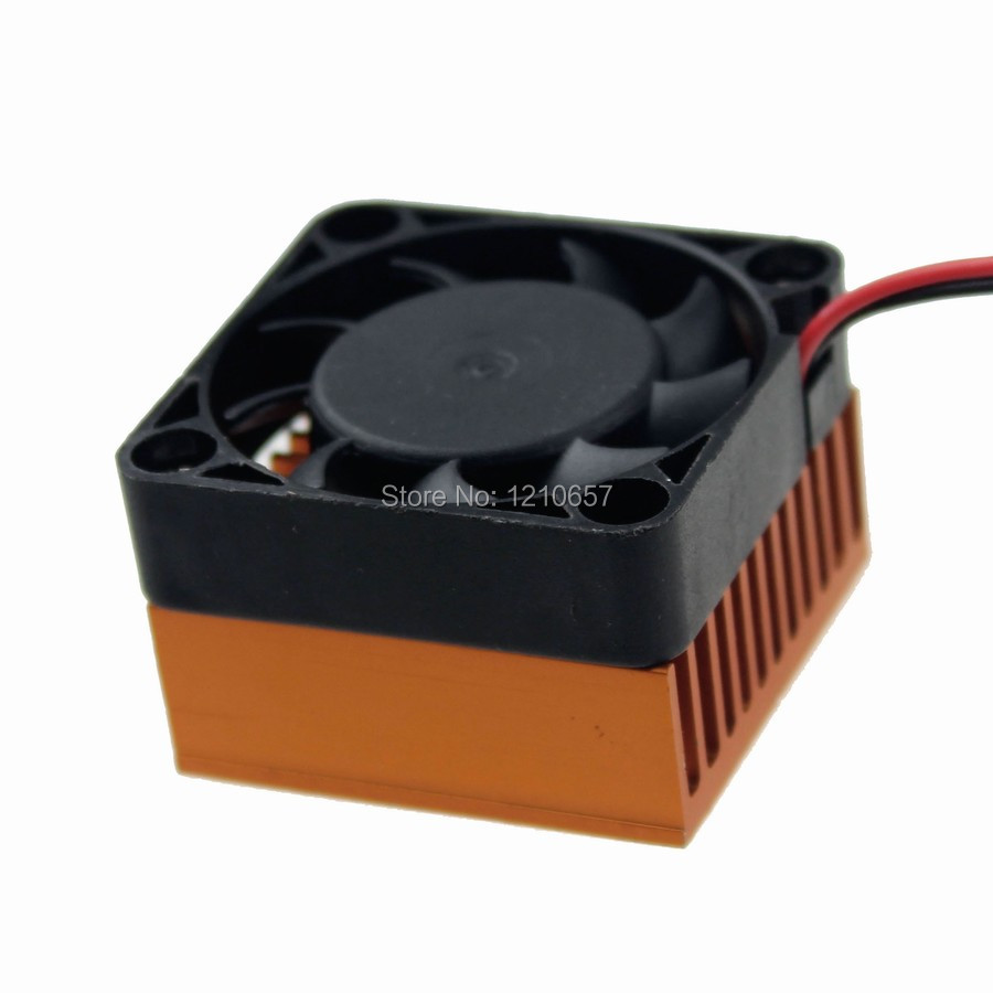 1PCS Aluminium Heatsink Fin Cooler 40mm Fan For PC Northbridge Chipset 3D Printer Cooling ...