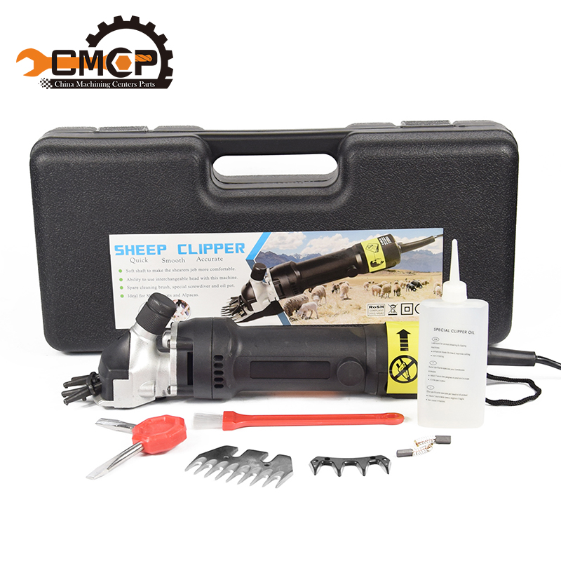 New 350W Electric Sheep Goat & Shearing Clipper Shears +1 set straight 9 tooth blade & comb Animal sheep shearing machines new 680w sheep wool clipper electric sheep goats shearing clipper shears 1 set 13 straight tooth blade comb