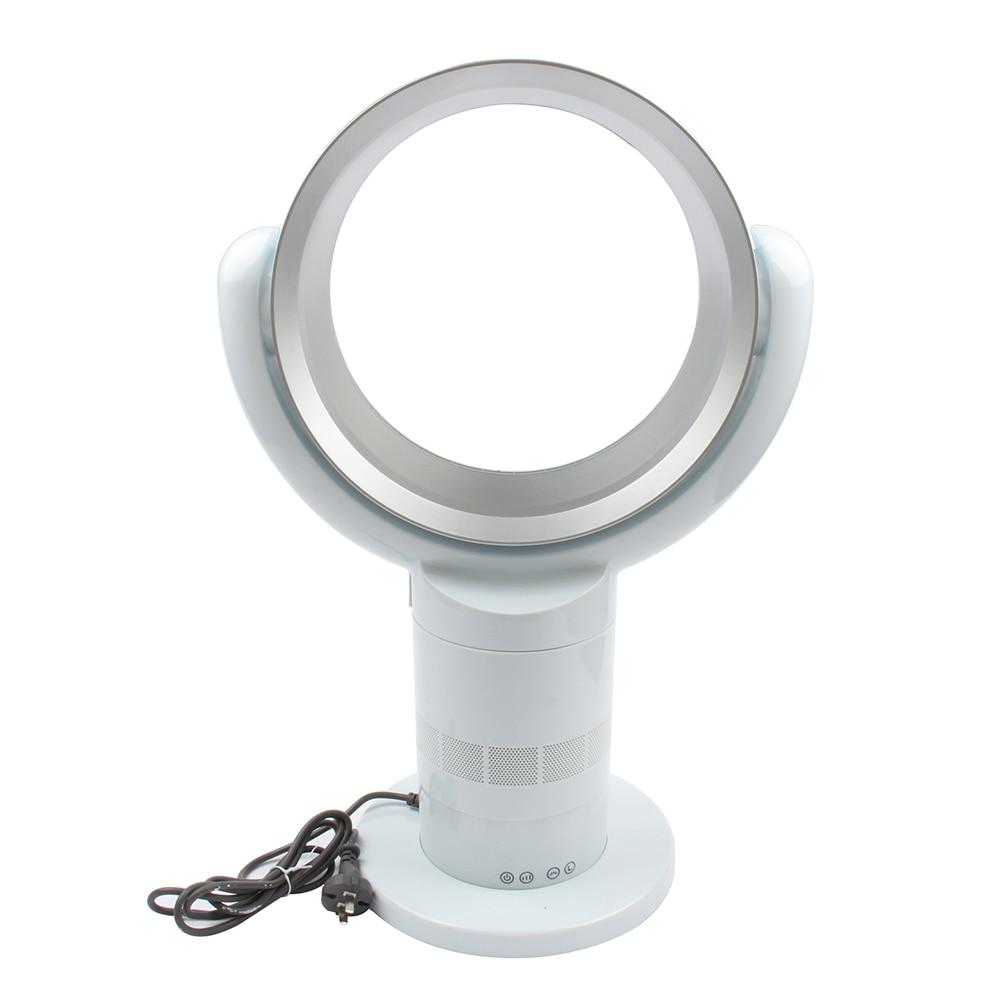 купить DMWD Ultra-quiet Bladeless Fan 220V Cooling Fan Remote Control Desk Fan 360 Degree Air Circulation Top Quality онлайн
