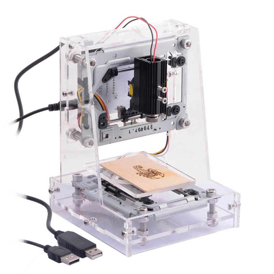 1PC DIY Mini Laser Engraver Laser engraving Machine For Small Artware, Carved Chapter, Rubber Stamp acrylic diy resin chapte diy handmade resin soap stamp chapter mini diy patterns z0125sz