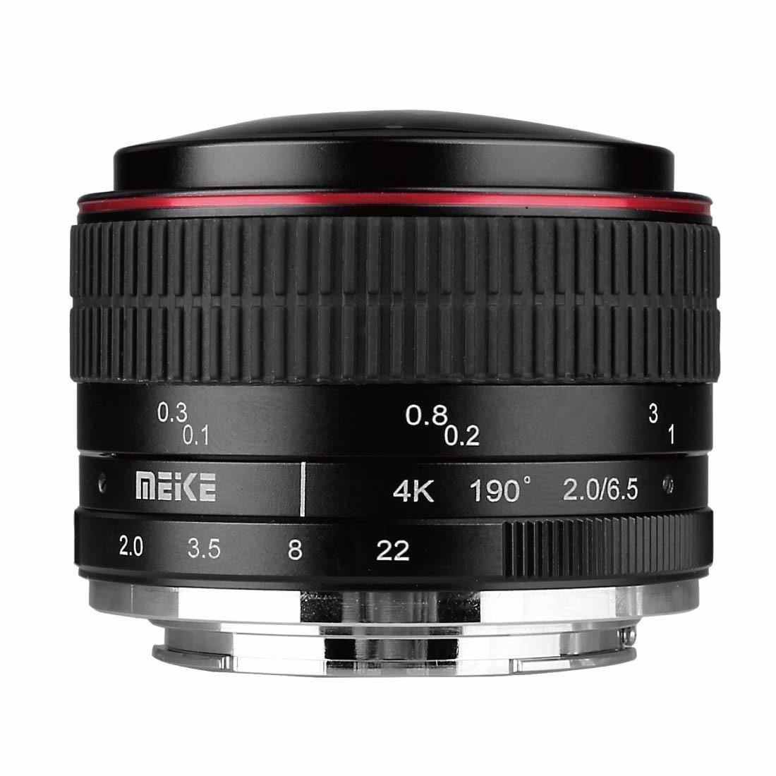 MEIKE MK 6 5mm F2 0 Fisheye Lens for Panasonic Olympus Mirrorless MFT M4 3 Lens