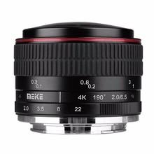 MEIKE MK-6.5mm F2.0 Fisheye Lens for Panasonic/Olympus Mirrorless MFT M4/3 Lens Camera