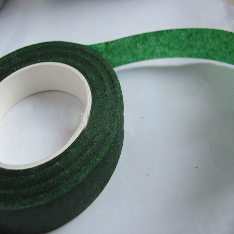 Florist Stem Tape Wire Floral Work Plastron Floral Tape Wrap Coffee 1 Roll