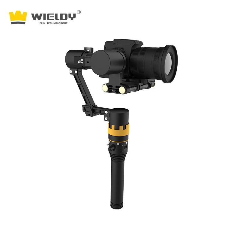 Dragon shadow drie-as gyro-stabilisator SLR handheld PTZ-tuimelaar - Camera en foto